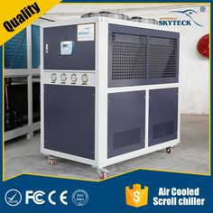 Gree industrial air cooled scroll water chillers air conditioner with low price for sale