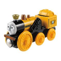 Thomas the Wooden Railway - Stephen Engine by Fisher Price Toys