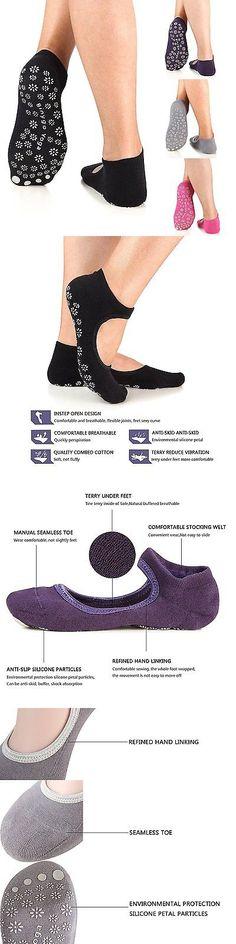 Socks 66078: Yoga Socks Non Slip Skid Barre Pilates Grips Fitness Dance For Women By Binygo -> BUY IT NOW ONLY: $38.97 on eBay!