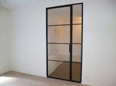 Afbeeldingsresultaat voor stalen schuifdeuren met glas