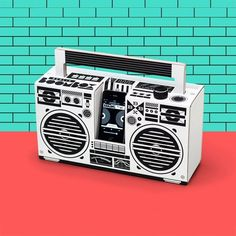 The Berlin Boombox - 80's Inspired Ghettoblaster #needthisinmylife