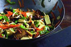 Tofu se zeleninou Kung Pao Chicken, Tofu, Ethnic Recipes, Diet