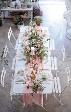baby shower ideas - photo by LoveHer Photography http://ruffledblog.com/botanical-baby-shower-with-rose-gold