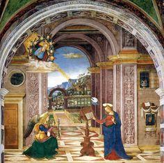 Pinturicchio, Annunciazione (Spello)