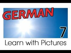 Learn German - German Weather Vocabulary - YouTube