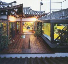 52 Ideas For House Korean Traditional Architecture Design, Asian Architecture, Minimal Architecture, Style At Home, Exterior Design, Interior And Exterior, Future House, My House, Republik Korea