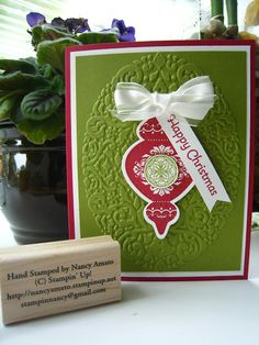 Stampin' All Night: Christmas In July Card #2