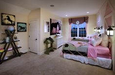 Fall in love with this horse themed bedroom (Bayhill Charleston - Regency Hills at Providence, PA)