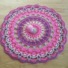 #madebylucia #Free ravelry #pattern #crochet #mandala #doily http://heishooked.blogspot.ie/2014/05/mandala-21.html?m=1