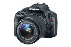 Canon U.S.A. Announces Worlds Smallest And Lightest DSLR Camera