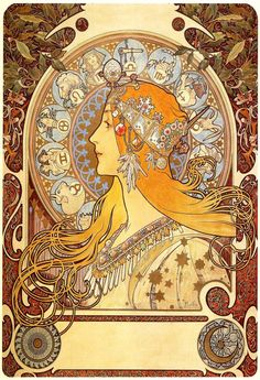 This digital art print of an oil painting from one of the foremost designers in the Art Nouveau style, is a must have for any art lover or Alphons Marie Mucha enthusiast. All of our prints are beautif