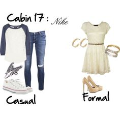 """Cabin 17: Nike"" by idmiliris on Polyvore"