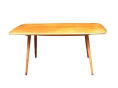 Table Ercol - orme et hêtre - vintage 1960 www.leschineusesdevintage.com