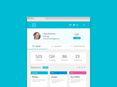 Stockroom Profile Page