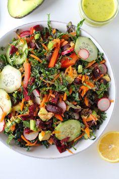 Spring Cleaning Detox Salad #kale #beets #salad