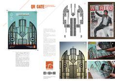 Wired magazine by Massimo Brugnera, via Behance