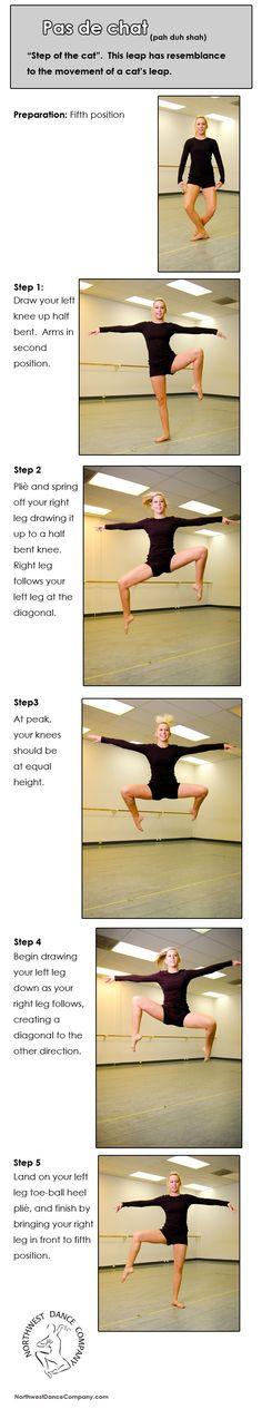 Burnaby South Dance: Dance Technique: Pas de chat