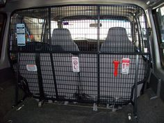 Nissan GQ Cargo Barriers