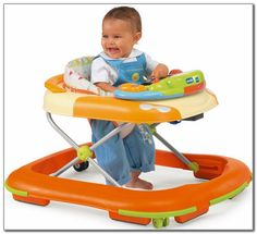 at what month can i put my baby in a walker