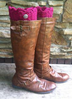 Handmade crocheted boot cuffs, boot toppers, womens leg warmers  by KarasHookNook on Etsy https://www.etsy.com/listing/204024805/handmade-crocheted-boot-cuffs-boot