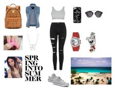 """""""Untitled #32"""" by nydi20 ❤ liked on Polyvore featuring Topshop, maurices, MCM, Converse, Mr. Gugu & Miss Go, Christian Dior and Disney"""