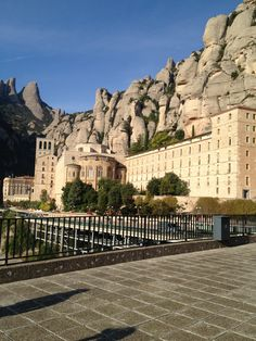 Monserrat Spain gorgeous day for a trip up the mountain. Boys choir was ♥ethereal.