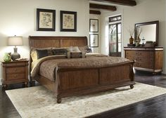 Rustic Traditions Queen Bedroom Group 2 by Liberty Furniture