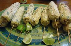 Pondered Primed Perfected: Mexican Grilled Corn