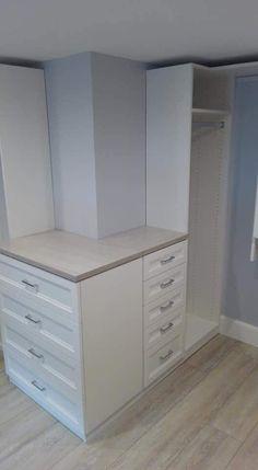 California Closets, Dresser, Space, Furniture, Home Decor, Floor Space, Powder Room, Decoration Home, Room Decor