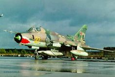 Aviones Caza y de Ataque      Su-17M-3