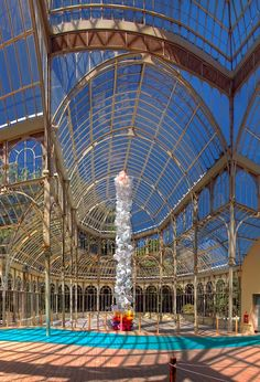 Crystal Palace Buen Retiro Park, Madrid Spain