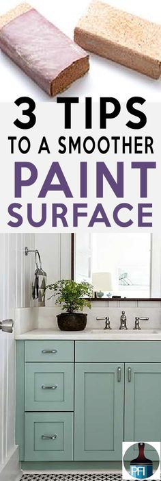 3 Simple Tips for a Smooth Painted Finish - Painted Furniture Ideas