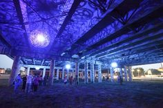 © JB Public Art - Ballroom Luminoso by artists Joe O'Connell and Blessing Hancock.