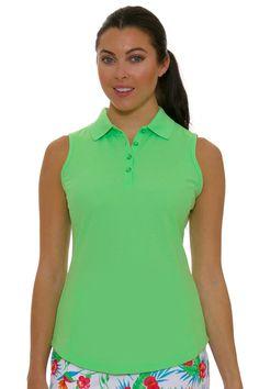 baf25e824 Protek Micro Pique Sleeveless Golf Polo Shirt. Tennis SkortGreg NormanGolf  ...