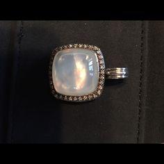 David yurman pendant David yurman Albion pendant with moon Quartz and diamonds David Yurman Jewelry