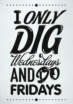 Typography Mania #bandw #typography