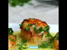 Bacon Scallops with Garlic Butter Sauce - YouTube