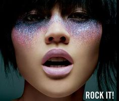Crying Glitter Makeup    http://www.scene-makeup.com