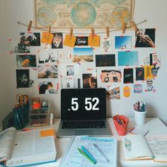 College Girl With Pearls - astrahl: cute desk space + composition ig:.