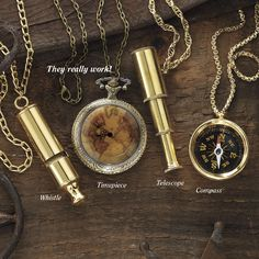 Steampunk Explorer Necklace - Women's Clothing & Symbolic Jewelry – Sexy, Fantasy, Romantic Fashions Unique Clothes For Women, Steam Punk Jewelry, Steampunk Design, Steampunk Fashion, Steampunk Accessories, Steampunk Wedding, Long Chain Necklace, Unique Necklaces, Gothic Necklaces