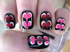 Cool Valentines Day Nail Art Designs