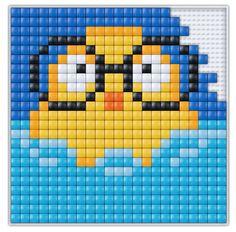 #pixel #gift #pixel.gift #pixelhobby #pixelen #xl #creatief #knutselen #doe-het-zelf #badeend #eend #duck #canard #ente
