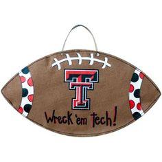 Texas Tech Red Raiders Football Burlee Wall Hanging