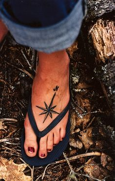 compass tattoo. This location, different compass. Words: I don't know the way, but I'll make it somehow.