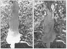 Fotografies aèries de l'embassament de Terradets els anys 1957 i 1982. L'aterrament de l'embassament de Terradets. Hidrogeologia