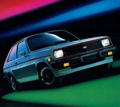 """1983 Chevrolet Chevette S 2 Door Sedan...My very first ride at $5,900!     Mine was the """"Scooter"""", stripped down version. Bought it new in 83."""