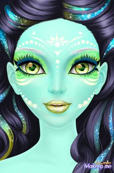 Chica Fantasy, Crazy Makeup, Female Art, Art Pictures, Disney Characters, Fictional Characters, Halloween Face Makeup, Joker, Disney Princess