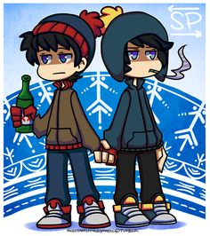 South Park - Craig Tucker x Stan Marsh - Staig