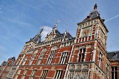Amsterdam Central Train Station