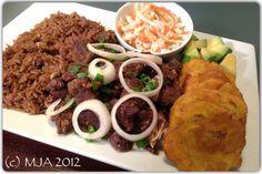 HAITIAN COMFORT FOOD: Diri ak DjonDjon, Tasso Kabrit, Ban… | Pinterest